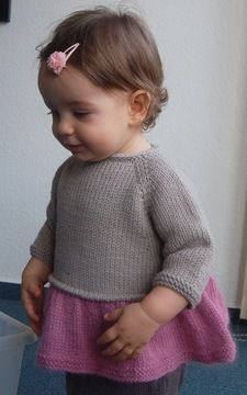 Download Tutu Top - baby and girl knitting pattern - Knitting Patterns immediately at Makerist
