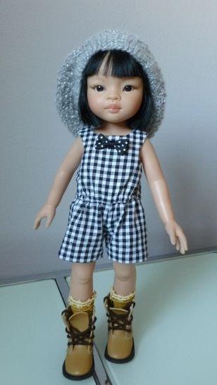 Télécharger Habits poupée - Combishort pour poupée  32-33cm Chéries de Corolle, et Amigas de Paola Reina - couture - Patrons de couture tout de suite sur Makerist