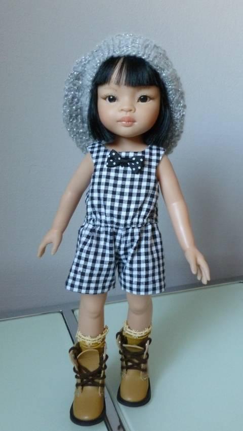 Télécharger Habits poupée - Combishort pour poupée  32-33cm Chéries de Corolle, et Amigas de Paola Reina - couture tout de suite sur Makerist