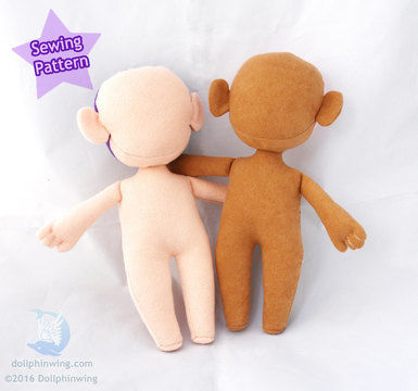 Download Little Doll Person Sewing Pattern - Sewing Patterns immediately at Makerist