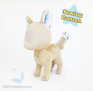 Download Fox Plushie Pattern - Sewing Patterns immediately at Makerist