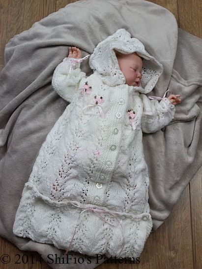 Download KP151 Sleeping Bag Baby Knitting Pattern #151 - Knitting Patterns immediately at Makerist