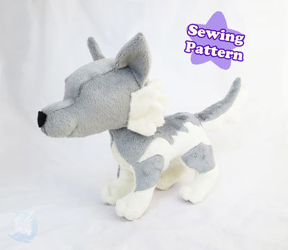 Download Wolf Plushie Pattern - Sewing Patterns immediately at Makerist