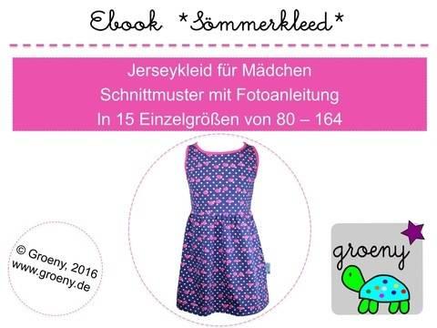 Ebook *Sömmerkleed* Jerseykleid Gr 80-164 bei Makerist sofort runterladen