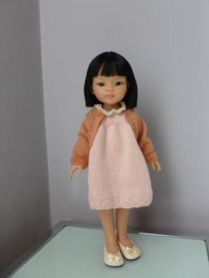 Télécharger Habits poupée - Aquarelle Nippone - poupée de 32 cm, à 34 cm, Chéries de Corolle, Amigas, Minouche - tricot - Modèles de tricot tout de suite sur Makerist
