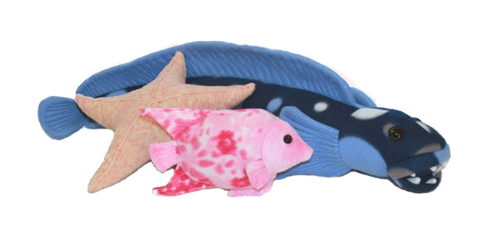 Fishy friends stuffed toy sewing pattern includes starfish download fishy friends soft toy sewing pattern includes starfish angelfish big fish jeuxipadfo Image collections