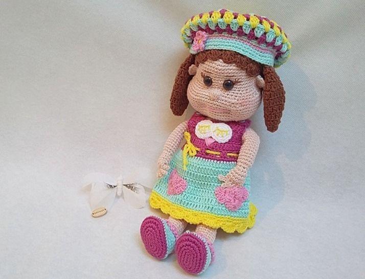 Häkelanleitung Puppe Pina - Häkelanleitungen bei Makerist sofort runterladen