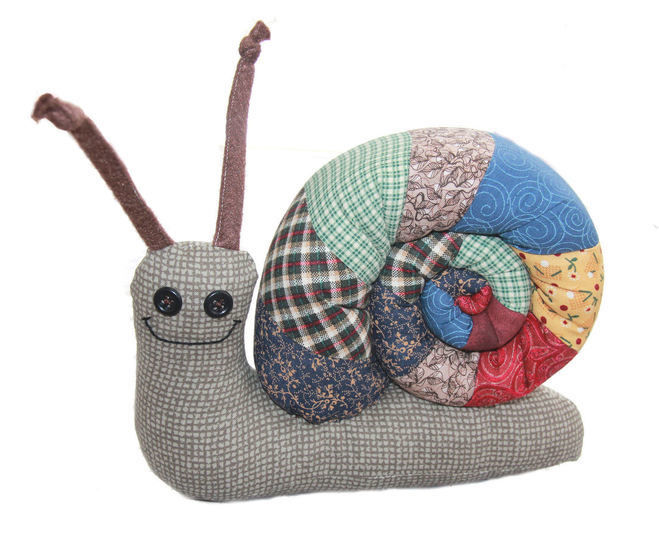 Download Scrap Bag Snail Sewing Pattern - Sewing Patterns immediately at Makerist