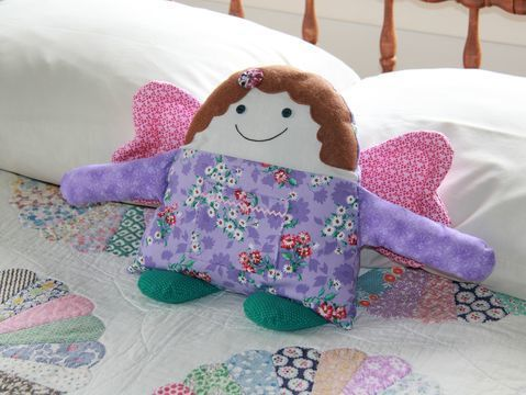 Download Angel Buddies Pocket Pillow Sewing Pattern, Girl & Boy - Sewing Patterns immediately at Makerist