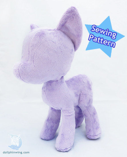 Download Little Pony Mare Plushie Pattern - Sewing Patterns immediately at Makerist