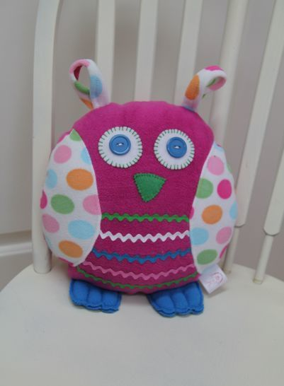 Download Owl Pillow Sewing Pattern - Sewing Patterns immediately at Makerist