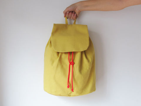 Download Simple no-hardware backpack No.3 - Sewing Patterns immediately at Makerist