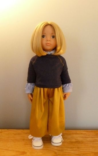 Download Scoolgirl, Doll clothes pattern for 18 inch doll fits American girl, Bonnie and Pearl, We Girl, Götz, Maru and Friends - Sewing Patterns immediately at Makerist