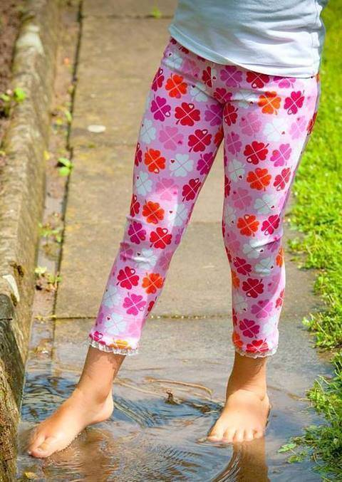 Schnittmuster Kinder Leggings 80 - 164 bei Makerist