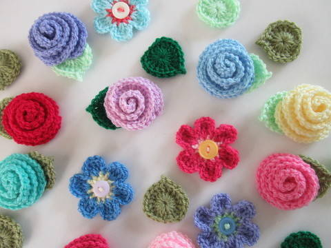 Download Flower Crochet Pattern immediately at Makerist