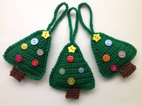 Download Christmas Tree Decoration - Crochet Pattern immediately at Makerist