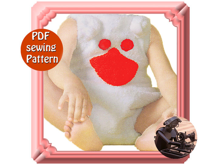 Download Rompers for toddlers, boy or girl - 6 to 24 months - French/english PDF sewing pattern  - Sewing Patterns immediately at Makerist