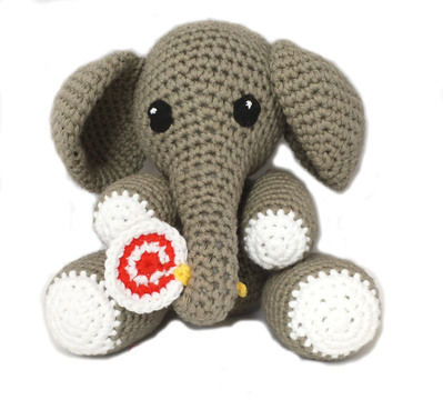 Download Elephant Amigurumi - Louie the Elephant - Crochet Patterns immediately at Makerist