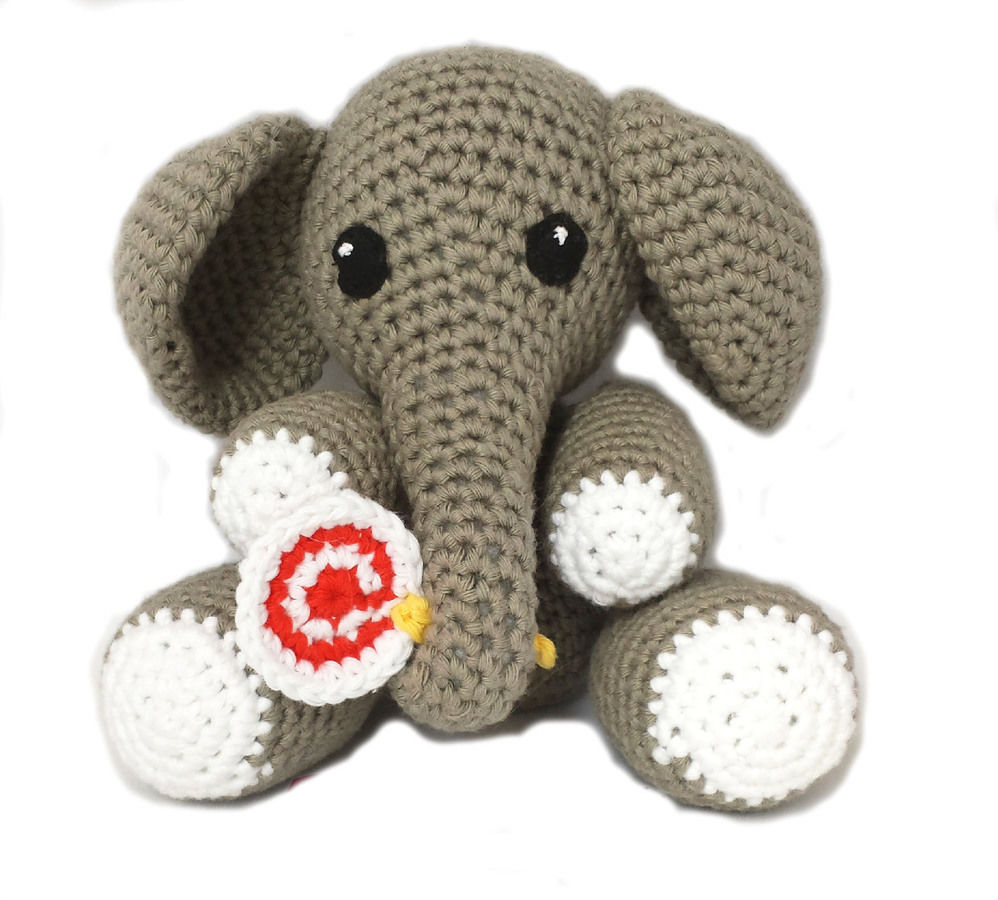Elephant Amigurumi Louie The Elephant