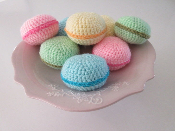 Download Macaron - crochet pattern - Crochet Patterns immediately at Makerist