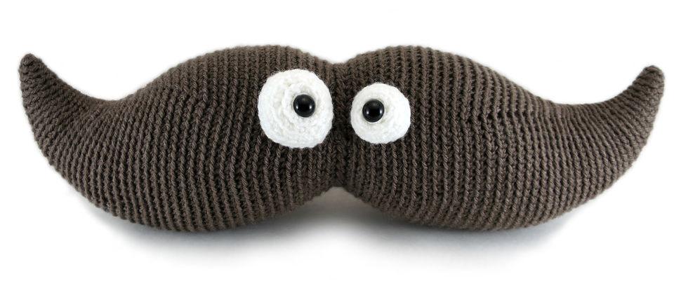 Download Harry the Moustache - amigurumi crochet pattern - Crochet Patterns immediately at Makerist