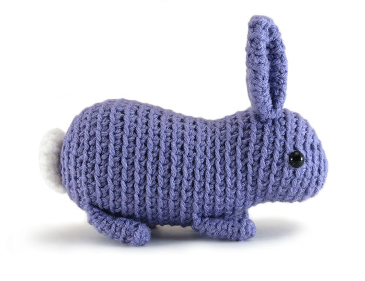 Download Little Flora the Bunny Rabbit - amigurumi crochet pattern - Crochet Patterns immediately at Makerist