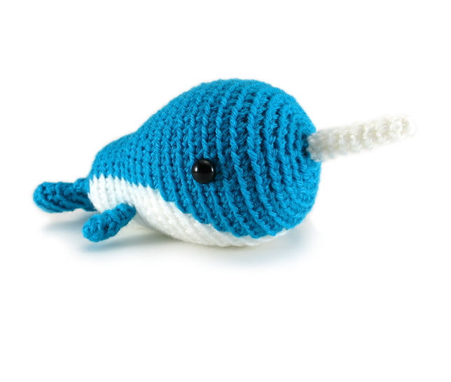 Download Little Walden the Narwhal (or Whale!) - Crochet Patterns immediately at Makerist