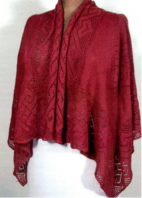 Download Filigree Shawl  immediately at Makerist