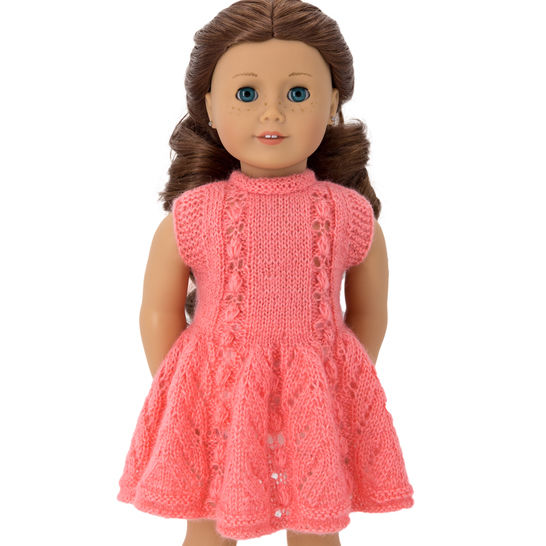 Download Summer dress  18 inch  dolls - Knitting Patterns immediately at Makerist