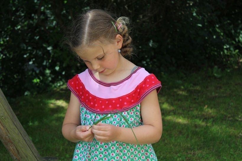 Sommerkleid IDA Mädchen Gr. 74-140 - Nähanleitungen bei Makerist sofort runterladen