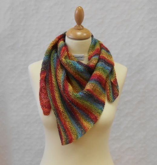 Download Caonach Shawl knitting pattern - Knitting Patterns immediately at Makerist