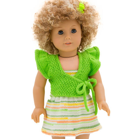 Download Summer dress and shrug  18 inch dolls  immediately at Makerist