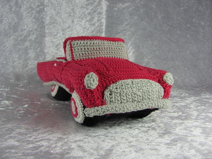 Häkelanleitung Hochzeits Cabrio - Häkelanleitungen bei Makerist sofort runterladen