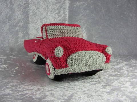 Häkelanleitung Hochzeits Cabrio bei Makerist sofort runterladen