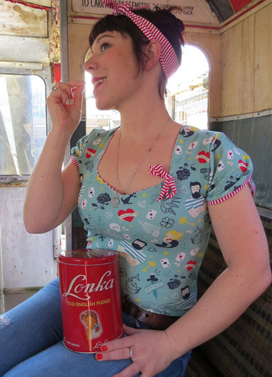 SHIRT 'WOLKENLOS' / SRW-Reihe Vintage Shirt - Nähanleitungen bei Makerist sofort runterladen