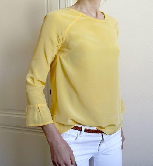 Télécharger Patron blouse femme Stockholm - du 34 au 50 - couture - Patrons de couture tout de suite sur Makerist