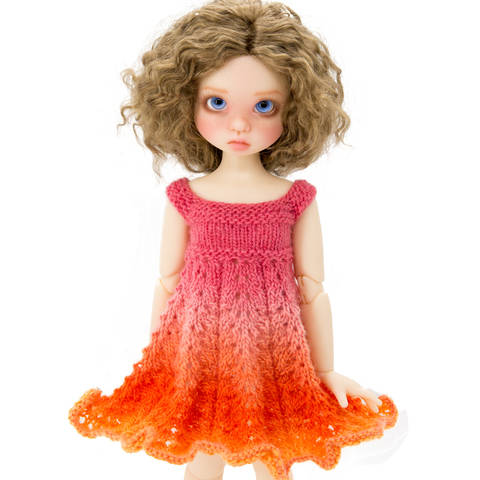 Download Summer dress 18 inch MSD BJD dolls  immediately at Makerist