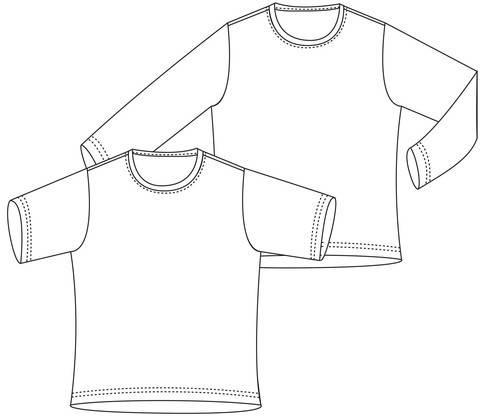 """Basic-Shirt"", Gr.98-164 bei Makerist sofort runterladen"