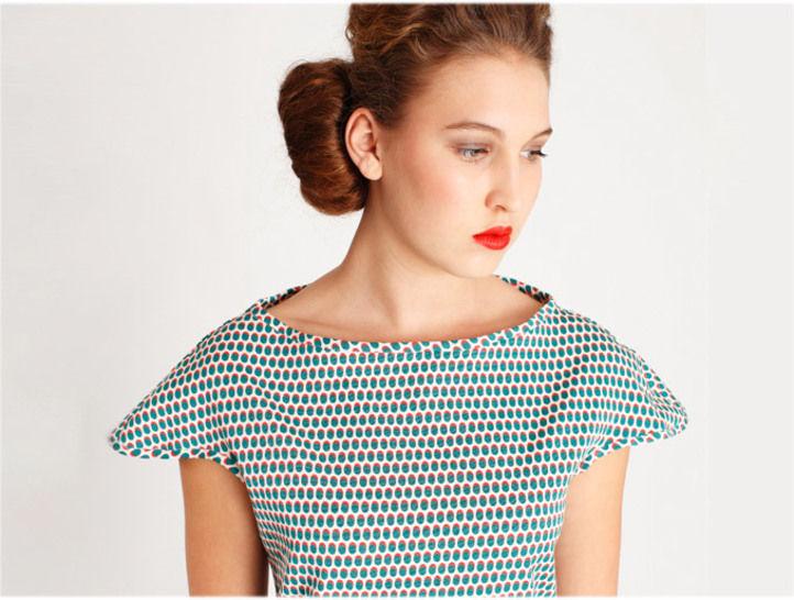 Schnittmuster Kleid und Shirt Amber - Nähanleitungen bei Makerist sofort runterladen