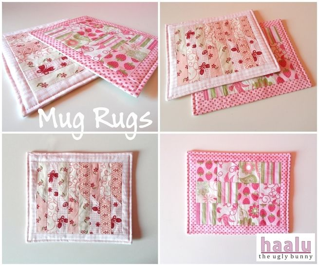Download Mug Rugs - sewing tutorial - Sewing Patterns immediately at Makerist