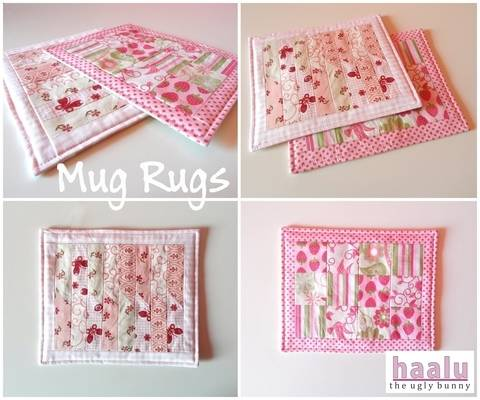 Download Mug Rugs - sewing tutorial immediately at Makerist