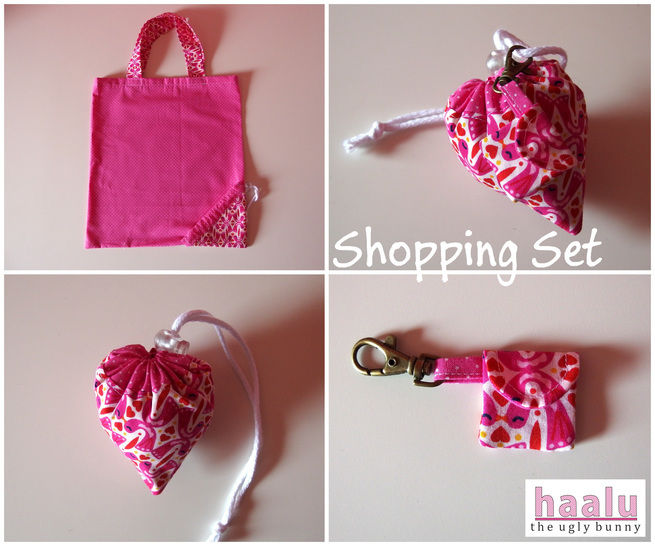 Download Shopping Set - sewing tutorial - Sewing Patterns immediately at Makerist
