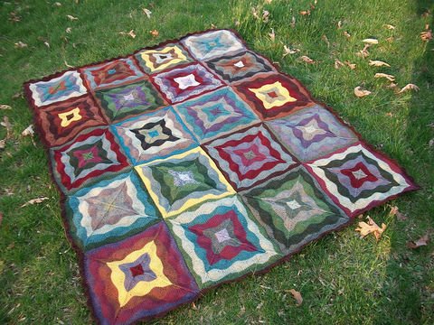 Download Merrywood Throw - Knitting Patterns immediately at Makerist