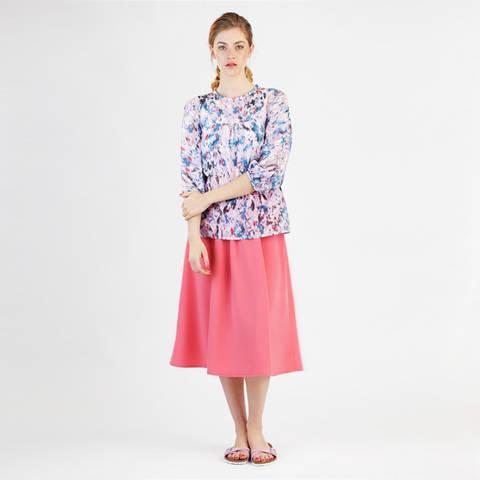 Schnittmuster und Nähanleitung Bluse Mila bei Makerist sofort runterladen
