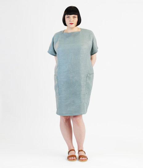 Schnittmuster und Nähanleitung Kleid Rose für große Größen - Nähanleitungen bei Makerist sofort runterladen