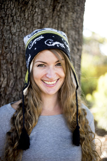 Download Gecko Chullo Earflap Hat – Reynolds Knitting - Knitting Patterns immediately at Makerist