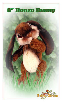 Download 20 Cm Bunny Sewing Pattern, Teddy Bear Style Rabbit, Plush Jointed DIY - Sewing Patterns immediately at Makerist