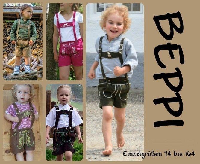 vegane lederhose Beppi für Kinder Ebook  - Nähanleitungen bei Makerist sofort runterladen