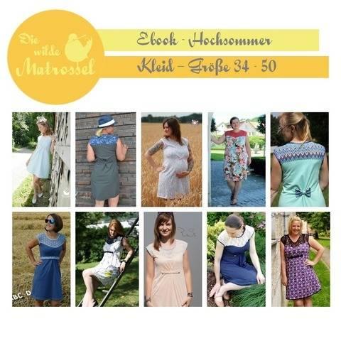 Ebook Hochsommer - Kleid Größe 34-50  bei Makerist sofort runterladen
