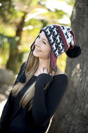 Download Stag Chullo Earflap Hat – Reynolds Knitting - Knitting Patterns immediately at Makerist